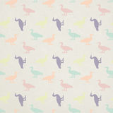Seamless duck pattern for your designs on paper te Stock Photos
