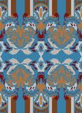 Seamless east pattern Stock Photography