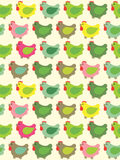 Seamless easter background Royalty Free Stock Image