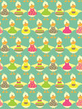 Seamless easter background Stock Images