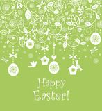 Seamless easter background Stock Photography