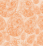 Seamless easter background Royalty Free Stock Photo