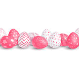 Seamless Easter border Royalty Free Stock Images