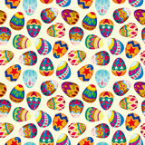 Seamless Easter egg pattern Royalty Free Stock Photography