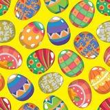 Seamless Easter Egg pattern Royalty Free Stock Image
