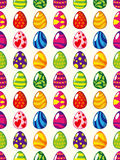 Seamless Easter egg pattern Royalty Free Stock Images