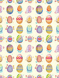 Seamless Easter Egg pattern Stock Photos