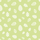 Seamless Easter eggs pattern. Stock Photos