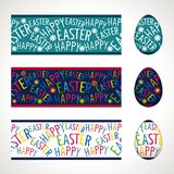 Seamless easter frieze Royalty Free Stock Image