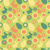Seamless easter pattern Stock Photo
