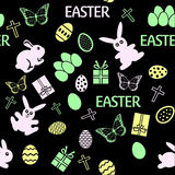 Seamless Easter Pattern Royalty Free Stock Images