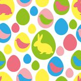 Seamless easter pattern Royalty Free Stock Photo
