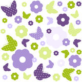 Seamless Easter Pattern Royalty Free Stock Photos
