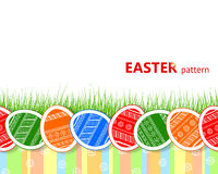 Seamless Easter pattern Stock Photos