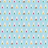 Easter pattern Stock Image