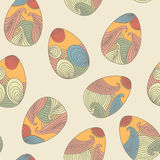 Seamless easter pattern Stock Images