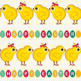Seamless easter pattern Royalty Free Stock Photography