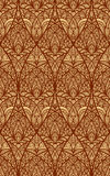 Seamless eastern floral pattern Stock Image