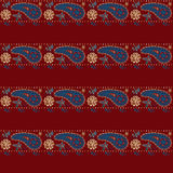 Seamless eastern lace pattern Stock Photo