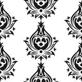 Seamless eastern style pattern. Arabic ornament. Seamless eastern style pattern. Arabic repeating ornament Stock Images