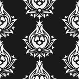 Seamless eastern style pattern. Arabic ornament. Seamless eastern style pattern. Arabic repeating ornament Stock Image