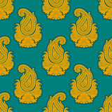 Seamless Eastern Style Pattern. Paisley Ornament Royalty Free Stock Images