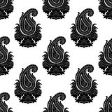 Seamless Eastern Style Pattern. Paisley Ornament Royalty Free Stock Photo