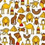 Seamless Egypt background Royalty Free Stock Image