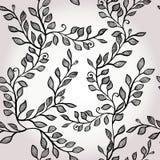Seamless elegant floral background Stock Images