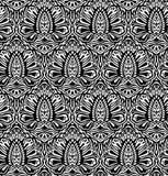 Seamless elegant floral pattern Stock Image