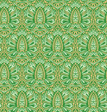 Seamless elegant floral pattern stock illustration
