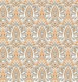 Seamless elegant floral pattern vector illustration