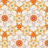 Seamless elegant floral pattern background Royalty Free Stock Photo