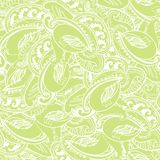 Seamless elegant paisley lace pattern Royalty Free Stock Photos