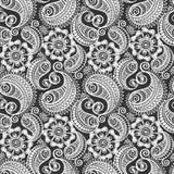 Seamless elegant paisley pattern Stock Image