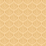 Seamless Elegant Pattern. Hand drawn seamless elegant pattern. Easy to Edit Royalty Free Stock Photography