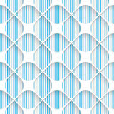 Seamless Elegant Pattern. Abstract Three-dimensional Background Stock Photos
