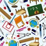 seamless elementmodellskola Royaltyfri Foto