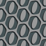 Seamless Ellipse Pattern Stock Photo