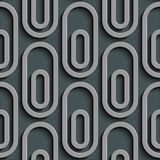 Seamless Ellipse Pattern Stock Photo