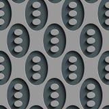 Seamless Ellipse Pattern Stock Image