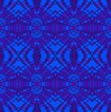 Seamless Ellipses Pattern Blue Purple Stock Images