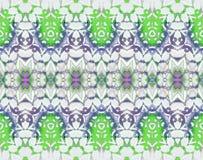 Seamless ellipses pattern bright green purple beige Royalty Free Stock Image
