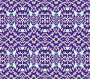 Seamless ellipses pattern pink violet dark blue aquamarine netting Stock Images