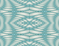 Seamless ellipses pattern turquoise white gray Stock Photography