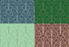 Seamless Elven Pattern Royalty Free Stock Image
