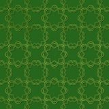 Seamless embossed pattern.Geometric pattern abstract with embossed design. Graphic modern pattern. 3D. Seamless embossed pattern.Green geometric pattern abstract Royalty Free Stock Photo