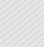 Seamless embossed pattern similar to Arabic. Royalty Free Stock Images