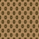 Seamless embossed pattern Royalty Free Stock Photo