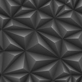 Seamless embossed texture. Of black color vector illustration